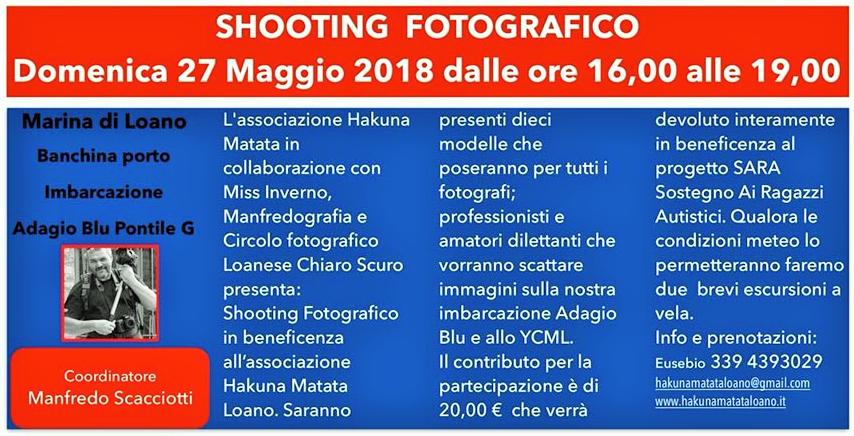 shooting fotografico loano